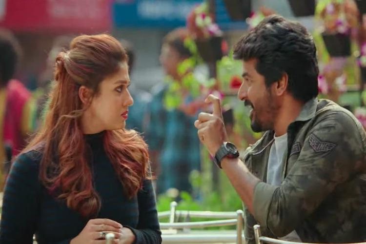 Watch Nayanthara and Sivakarthikeyan face off in Mr Local trailer