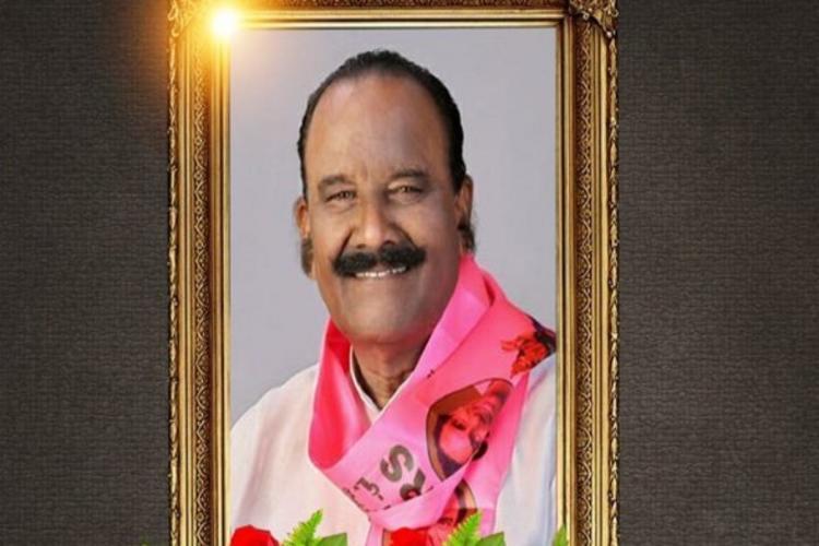 TRS senior leader Nayini Narasimha Reddy portrait