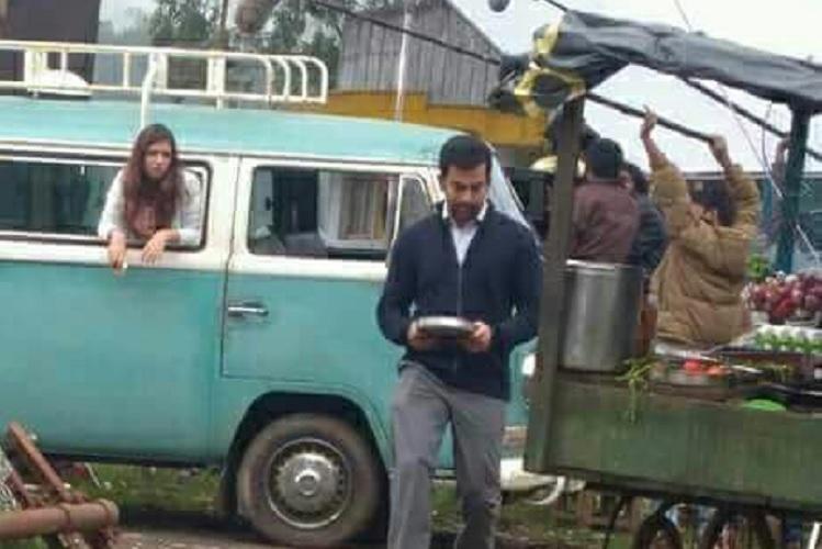 Visuals of Nazriya - Prithviraj from sets of Anjali Menon film go viral
