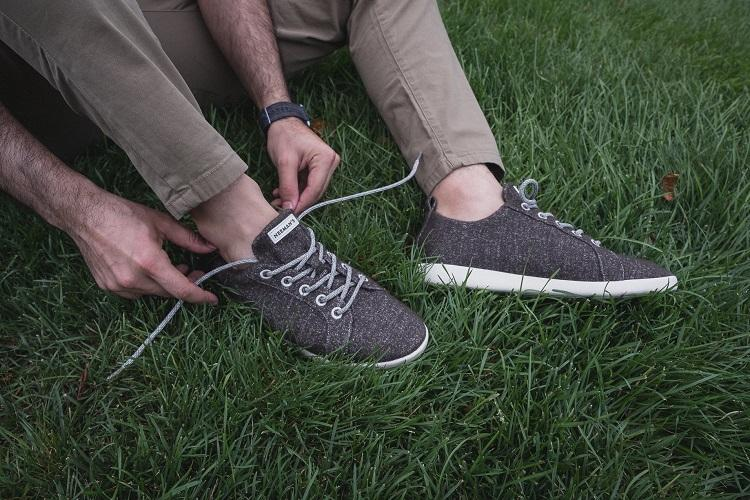 purpose shoes from natural fibres