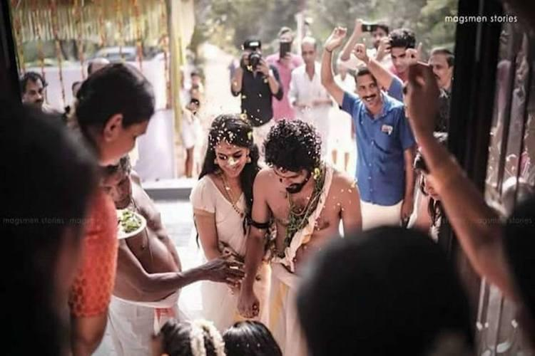 In pictures Malayalam actor Neeraj Madhav gets married