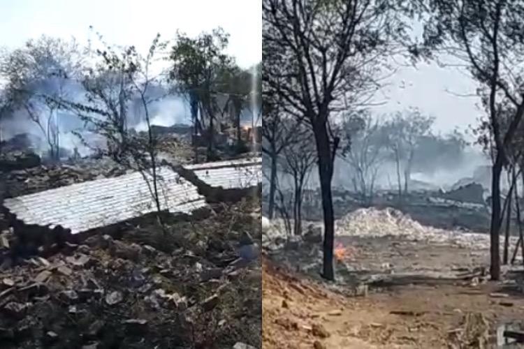 4 killed several injured in explosion at firecracker factory in Tirunelveli