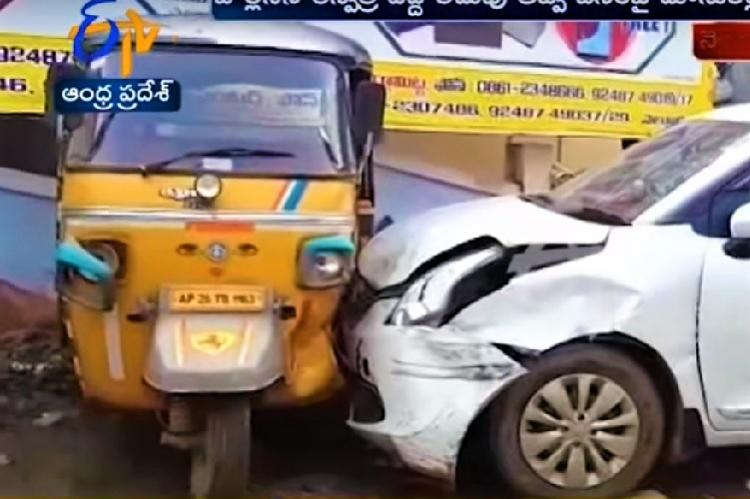 Hospital MD arrested as his car runs amok in Andhras Nellore injuring 4