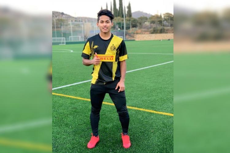 Meet Kozhikodes football sensation 19-yr-old Muhammed Nemil