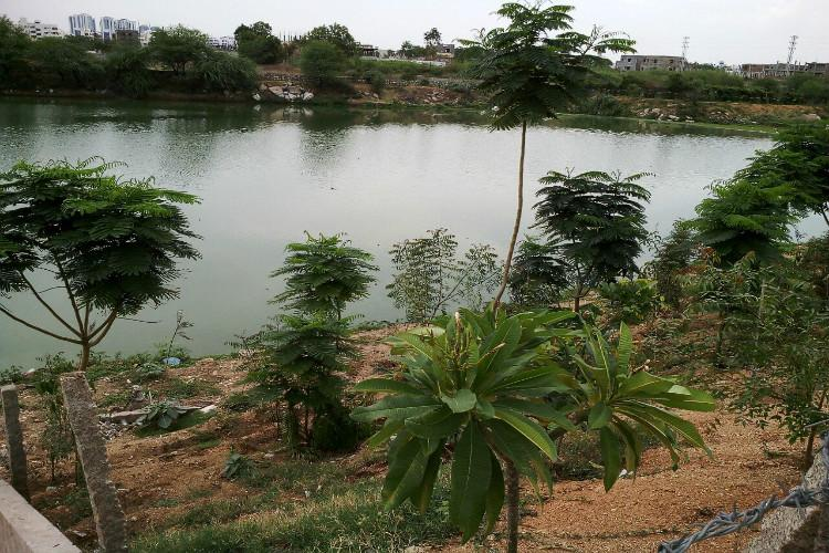 Within a year community service helps revive a 100-acre Hyd lake on the brink of encroachment