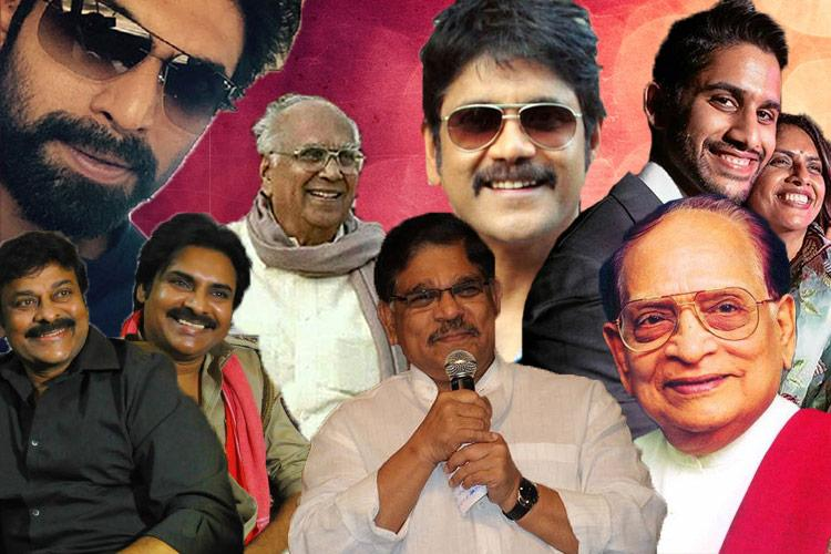 Tollywoods first families The kings and queens who rule the Telugu film industry