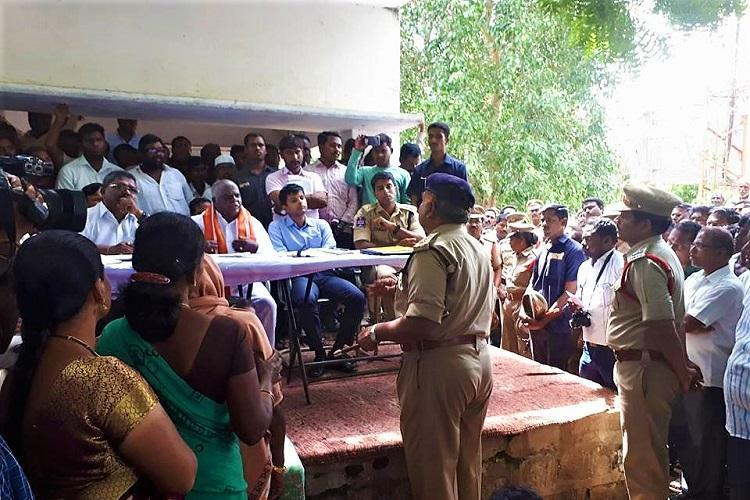 NHRC issues notice to Telangana DGP on police torture of Dalits in Nerella