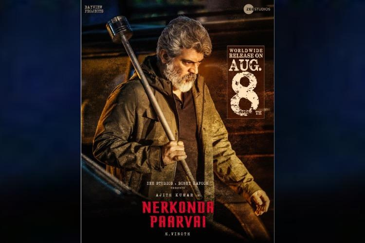 Ajiths Nerkonda Paarvai collects 2 million dollars in US opening weekend
