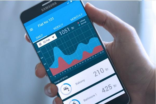 Water conservation made easy This app lets you monitor water usage from your smartphone