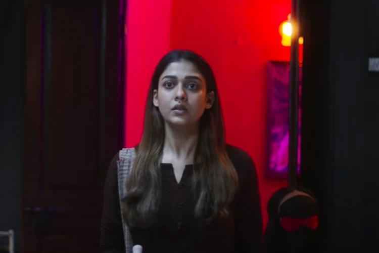 Nayanthara in Netrikann screenshot