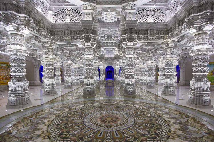 An inside image of the New Jersey Temple
