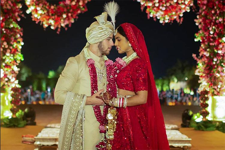 Nick Jonas and Priyanka Chopra's First Wedding Photos Revealed