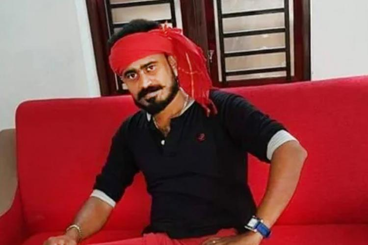 Nidheesh from DYFI surrendered before the police after absconding for a few days