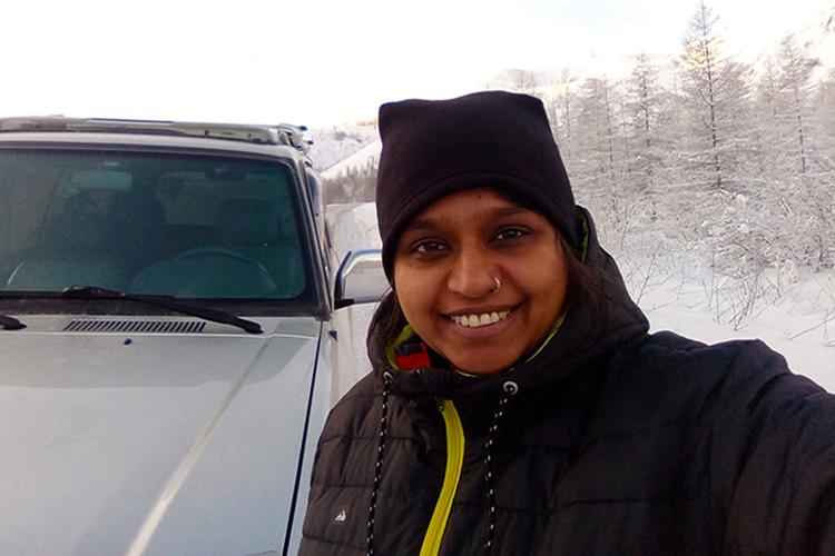 Meet the Bengaluru woman who traversed through the worlds coldest highway