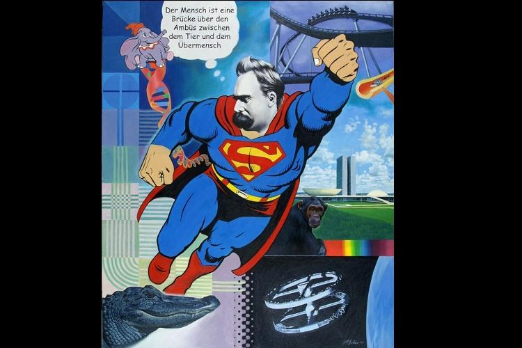 Nietzsche The reluctant misunderstood creator of Superman