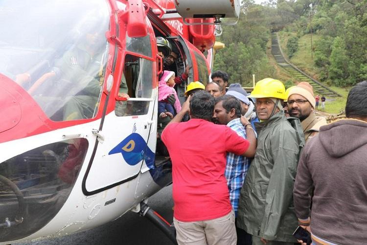 IAF choppers deployed in Nilgiris rescue 15 stranded after extreme rains