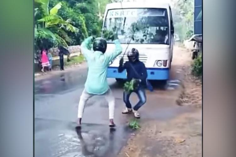 Dont jump in front of moving vehicles and dance Kerala cops on Nillu Nillu challenge
