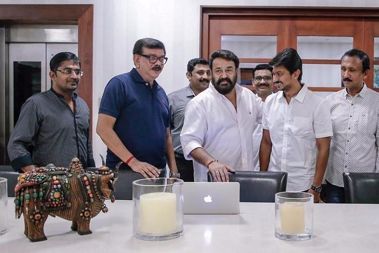 Mohanlal launches Priyadarshans Nimir Tamil remake of Mahesinte Prathikaram