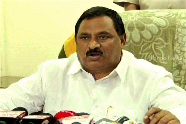 Andhra Home Minister stranded after convoy reportedly leaves TDPs Mahanadu without him