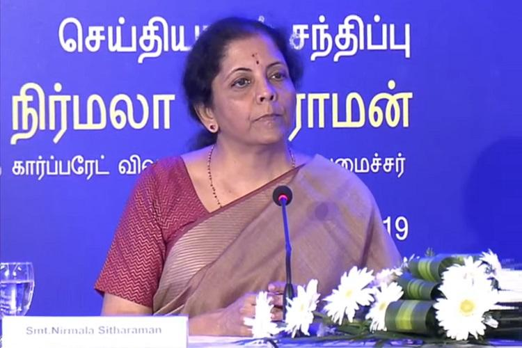 Will consider suggestions for reduction in income tax Finance Minister Nirmala