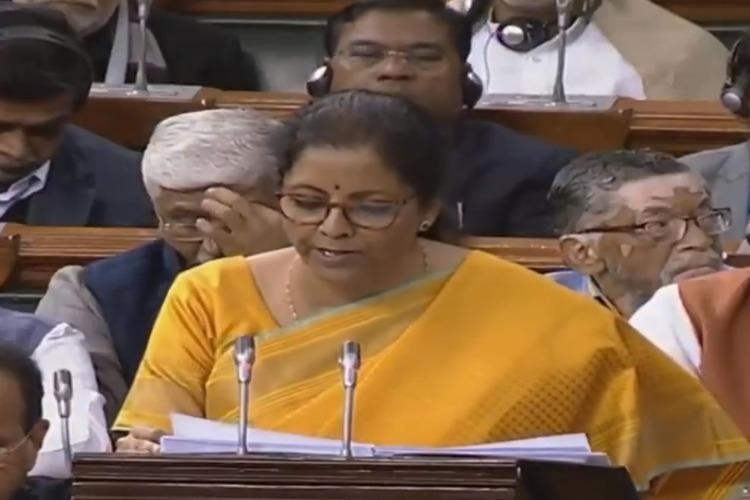 LIVE blog Finance Minister Nirmala Sitharaman presents Budget 2020