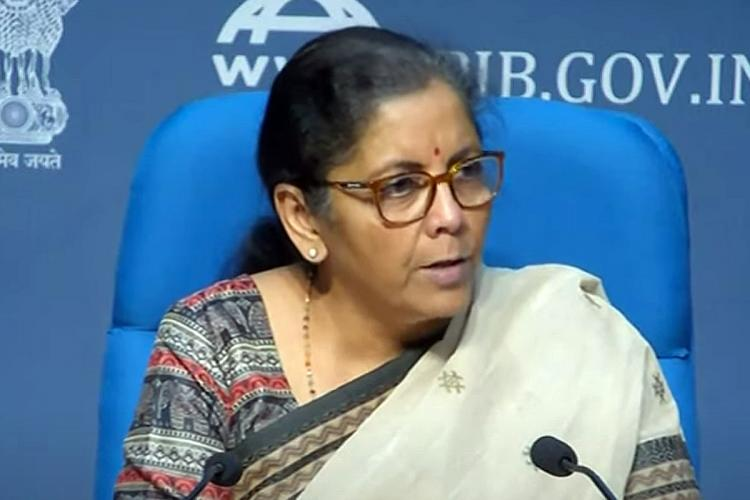 Nirmala Sitharaman at the fourth press conference of COVID relief