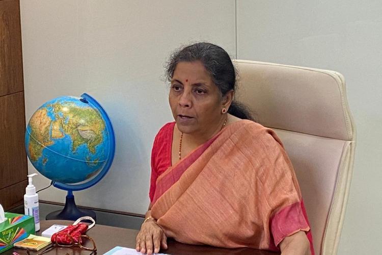 FM Sitharaman addressing India Ideas Summit