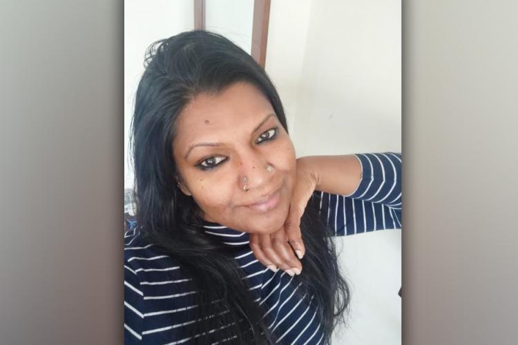 Nishara Antony smiling