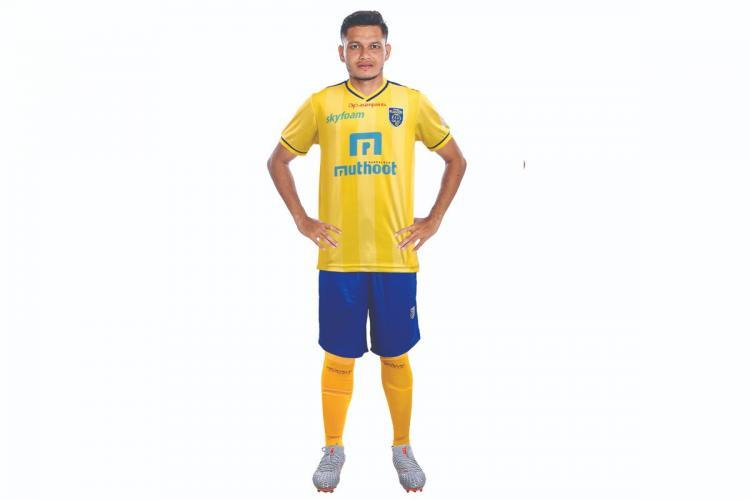 Nishu Kumar sign four year contract Kerala Blasters Indian Football League FIFA