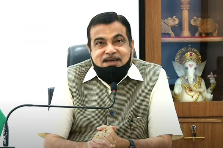 Livid about delay in completing NHAI building Gadkari slams officials at inauguration