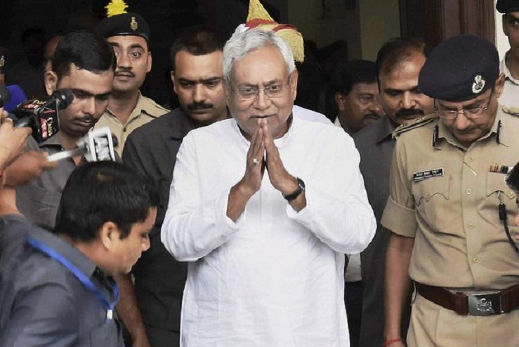 CM Nitish Kumar left red-faced as Bihar canal collapses day before inauguration