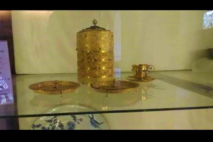 Burglary at Nizams Museum in Hyd Gold tiffin box and artefacts stolen