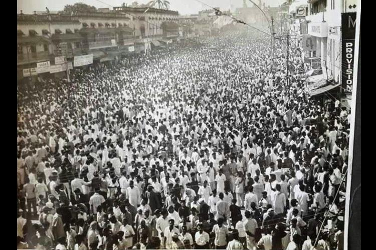 In pictures 50 years ago a sea of people turned up for the death of Hyderabads last Nizam