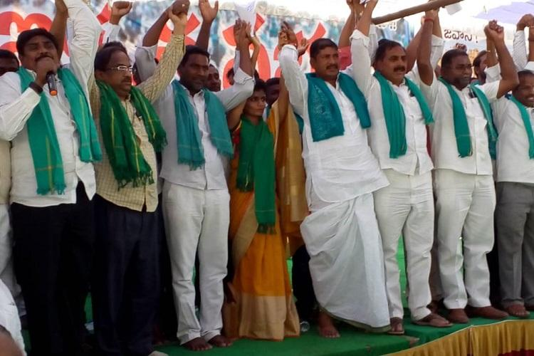 178 turmeric farmers contesting LS polls from Nizamabad hold joint rally