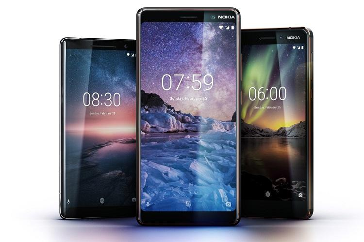 HMD Global launches Nokia 8 Sirocco Nokia 6 and Nokia 7 plus in India