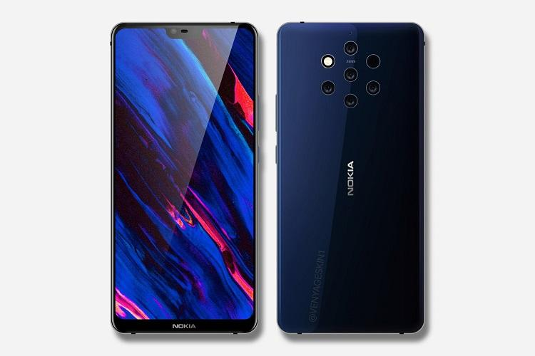 Nokia 9 specs leaked May come with five rear cameras and Xenon Flash