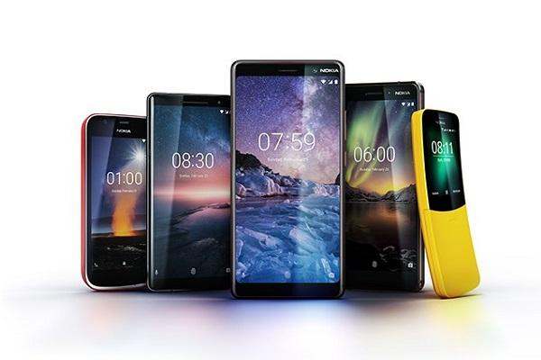MWC 2018 Nokia unveils five phones iconic Nokia 8110 makes a comeback