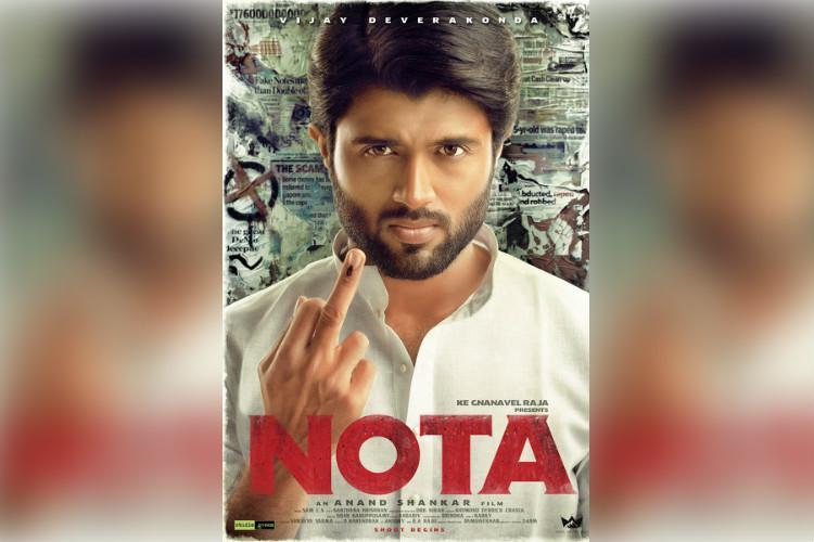 First look poster unveiled for Vijay Deverakonda - Anand Shankars film Nota