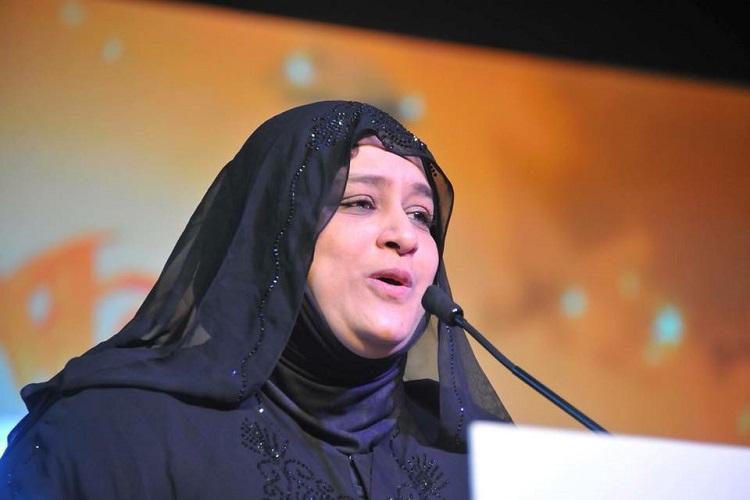 Nowhera Shaikh addressing a gathering