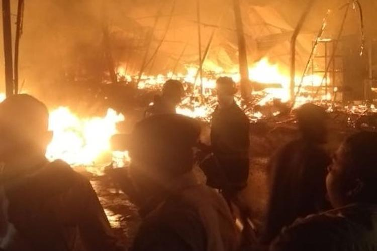 Major fire breaks out at Hyderabad Numaish exhibition several stalls gutted