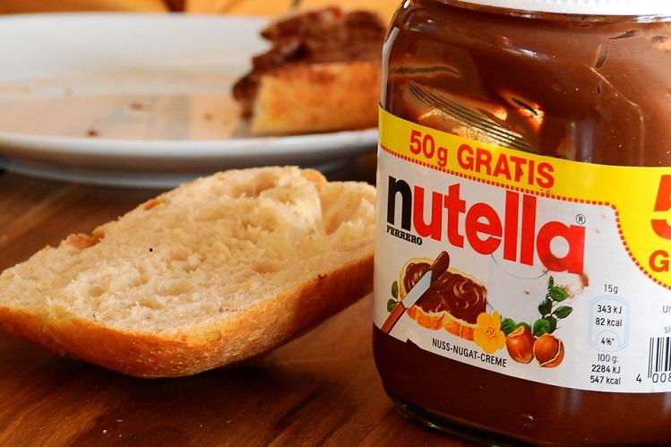 in 2018 you can be nuts over anything presenting the nutella