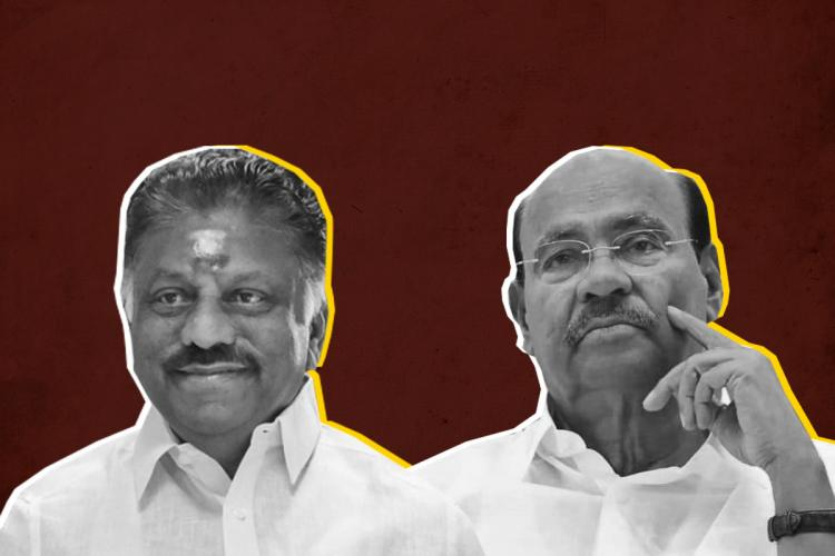O Panneerselvam and S Ramadoss rally to keep their castes happy