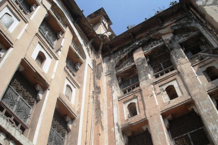 Once the pride of the Nizam Hyderabads iconic Osmania hospital now lies in shambles