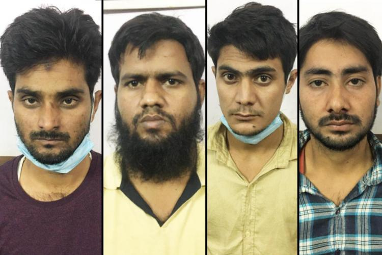 The four arrested are from Rajasthan