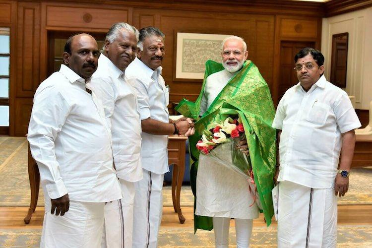 Decision on alliance with BJP only later OPS faction keeps options open after Modi meeting
