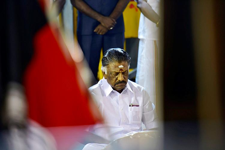 Always hardworking ever patient When Jayalalithaa recalled OPSs political journey from 1977