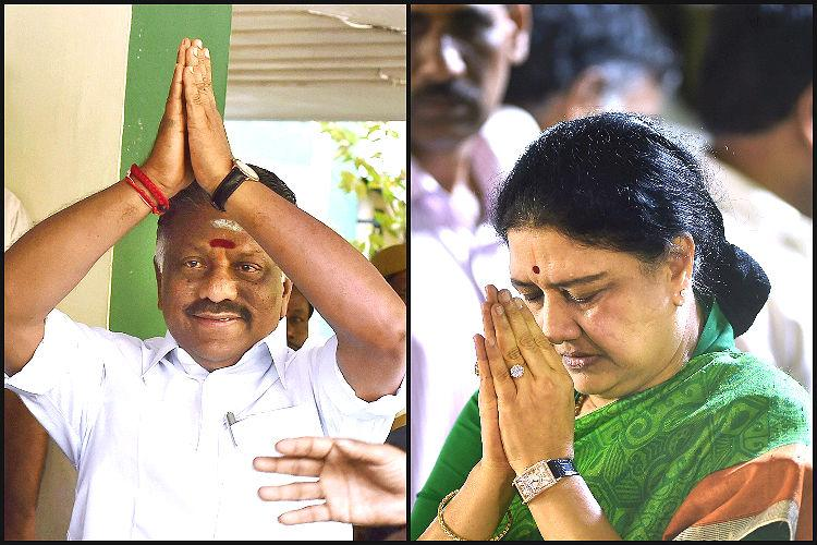 Live blog OPS vs Sasikala As TN awaits a Chief Minister a tug-of-war for supporters