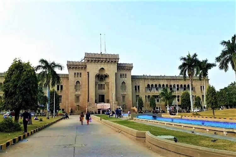 The Osmania University in Hyderabad