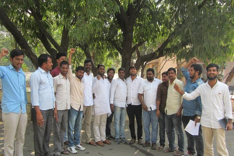 Once avid KCR supporters Osmania students protest as job promises stay unfulfilled