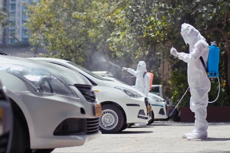 Ola to set up 500 fumigation centres across India to sanitise its vehicles
